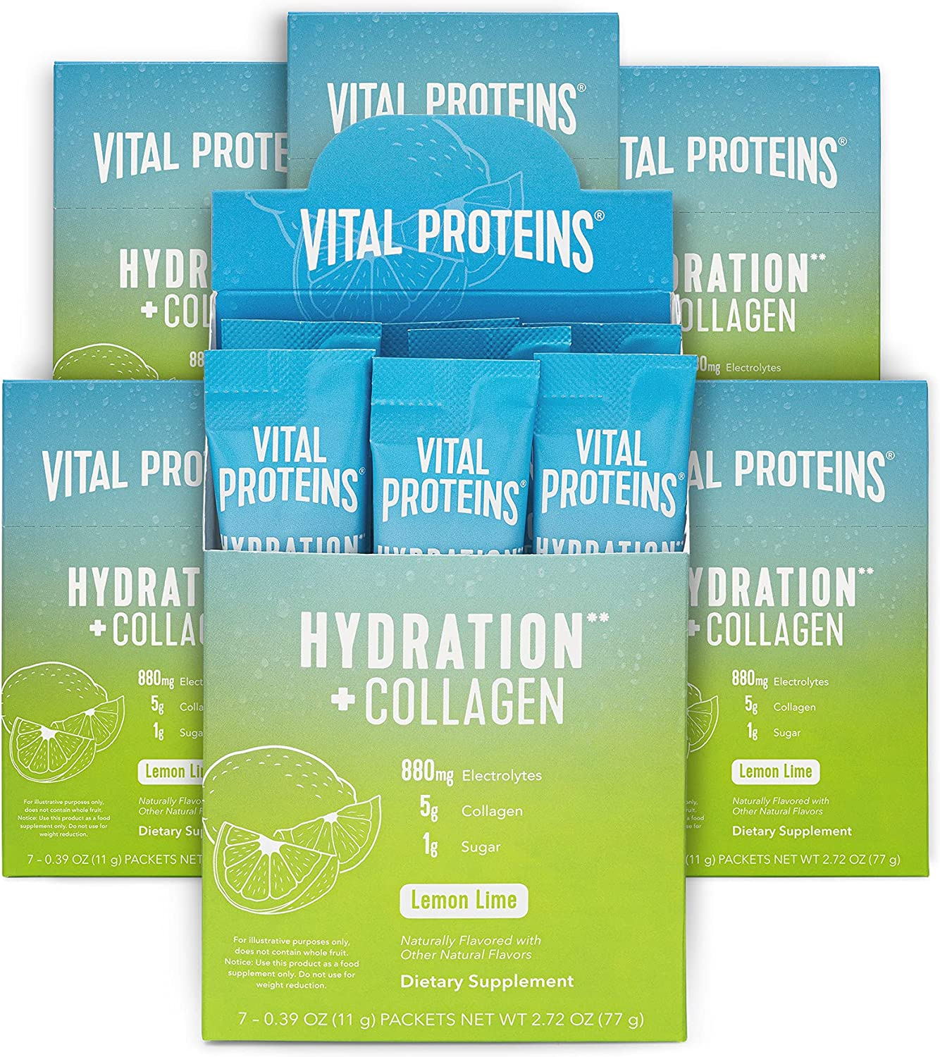 Vital Proteins Hydration + Collagen ラッピング無料 予約販売品 Packets Sodium E Low Powder