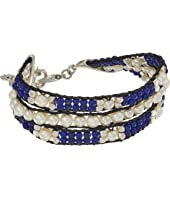 Lucky Brand - Twisted Pearl and Blue Bracelet