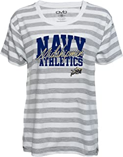 Old Varsity Brand Womens Alabama Ladies Striped Gameday T-Shirt 1651-P