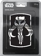 Chroma 041523 Star Wars MANDALORIAN SKULL Chrome INJECTN MOLDED Emblem