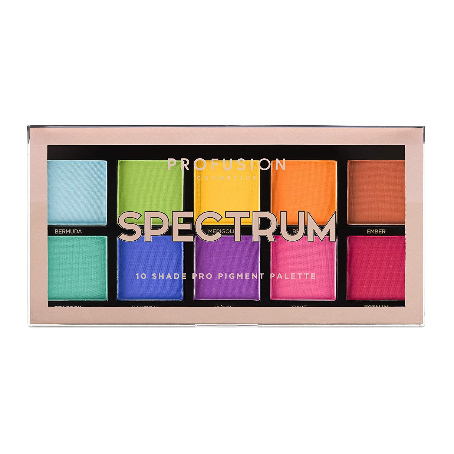 Profusion Cosmetics Mini Artistry 10 Sale item Palette Sp Eyeshadow Shade Free shipping on posting reviews