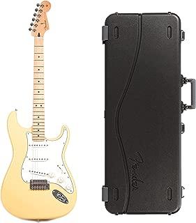 Fender Player Stratocaster MN Buttercream Bundle w/Fender Molded Hardshell Case