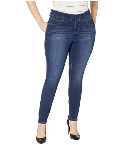 Jag Jeans Plus Size Plus Size Bryn Skinny Pull-On Jeans (Mid Indigo) Women