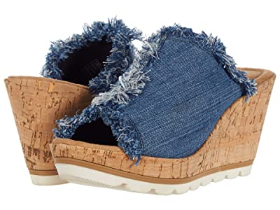 Minnetonka York (Blue Denim 2) Women