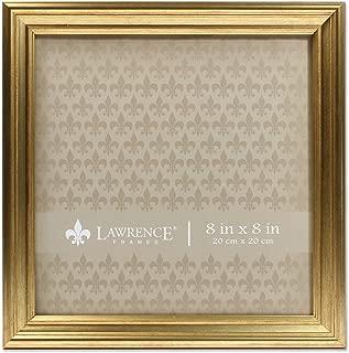 Lawrence Frames 8x8 Sutter Burnished Gold Picture Frame