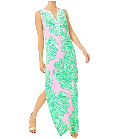 Lilly Pulitzer Carlotta Maxi Dress (Mandevilla Baby Who Let The Fronds Out) Women