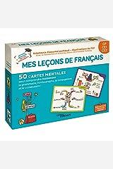 Mes leçons de français CP CE1 CE2: 50 cartes mentales pour comprendre facilement la grammaire, l'orthographe, la conjugaison et le vocabulaire. 1 livret explicatif Broché