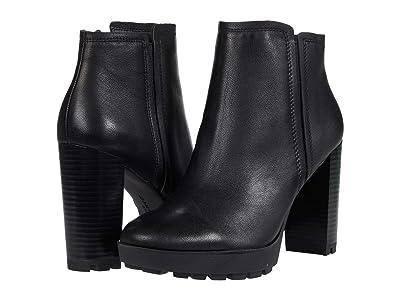 Kenneth Cole New York Justin Lug Chelsea (Black Leather) Women