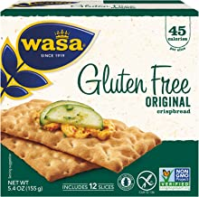 Wasa Gluten Free Original Crispbread, 5.4 Ounce (Pack of 10)