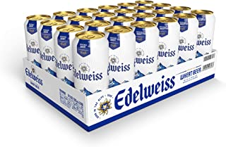 Edelweiss Weissbier Wheat Beer Can 500ml (Pack of 24)