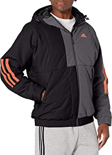 adidas outdoor Mens Back to School Hooded Jacket