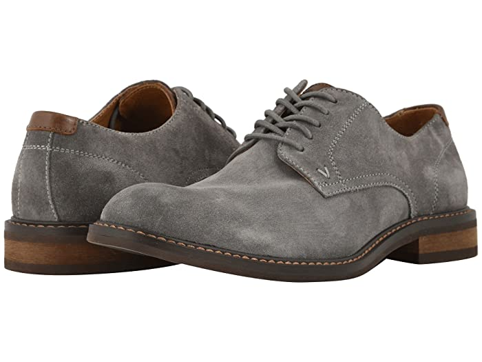 VIONIC  Graham (Grey) Mens Lace Up Cap Toe Shoes