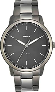 Fossil Casual Gents Wrist Watch, Grey