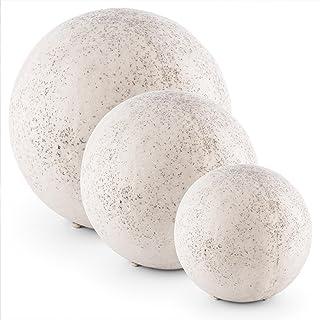 Amazon.fr : boule granit - Décoration d\'extérieur : Jardin
