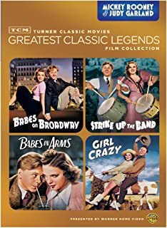 Rooney & Garland: TCM Greatest Classic Legends (Babes on Broadway / Strike Up the Band / Babes in Arms / Girl Crazy)