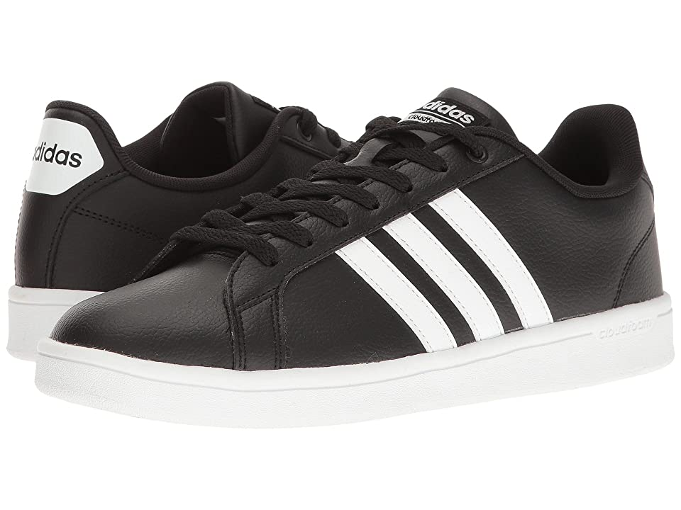 adidas Cloudfoam Advantage Stripes (Black/White/Chalk White) Men