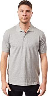Tipsy Koala Men's Grey Slim Fit Polo