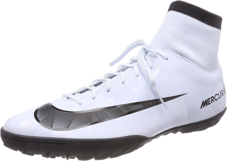 Nike Men's MercurialX Victory Vi Cr Dynamic Fit Tf Turf Soccer Cleat blueee Tint