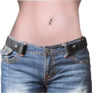 No Buckle Belt, Buckle Free Adjustable Belt For Men/Women Belts for Jeans Pants