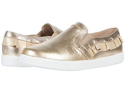 Elephantito Ruffled Slip-On (Toddler/Little Kid/Big Kid) (Gold 1) Girls Shoes