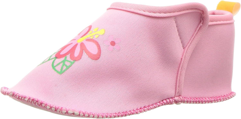 Skidders Kid's Floral Water Shoe, Pink, 18-24 Months US