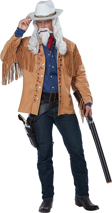 50 Men's Vintage Halloween Costume Ideas Adult Buffalo Bill Costume  AT vintagedancer.com