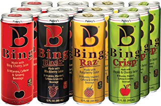 Bing Beverage Company Variety Pack, 12- Fl. Oz (Pack of 12)…
