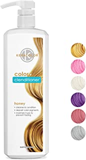 Keracolor Clenditioner HONEY Hair Dye - Semi Permanent Hair Color Depositing Conditioner, Cruelty-free, 33.8 Fl. Oz.