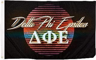 Delta Phi Epsilon 80's Letter Sorority Flag Banner 3 x 5 Sign Decor DPhie