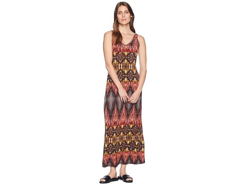 Karen Kane Desert Print Side Slit Maxi Dress (Print) Women