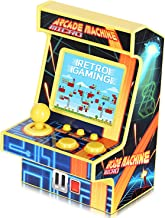Golden Security Mini Retro Arcade Game Machine for Kids New Version 1.8in Colorful Screen 152 Classic Games Portable Gamin...