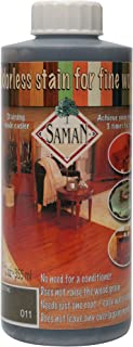 Saman Interior Water Based Stain for Fine Wood, Castle Stone, 12 oz