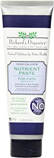Richard's Organics Nutrient Paste for Cats, 4.25 oz. – Naturally Balanced High-Calorie Dietary Supplement– Stimulates Appe...