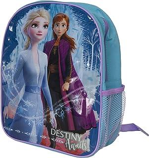 Frozen II Childrens Girls Backpack (UK Size: One Size) (Blue)