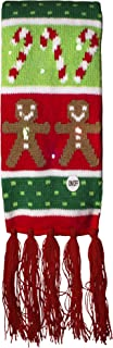 LED Light Up Holiday Scarf for Ugly Christmas Sweater Party