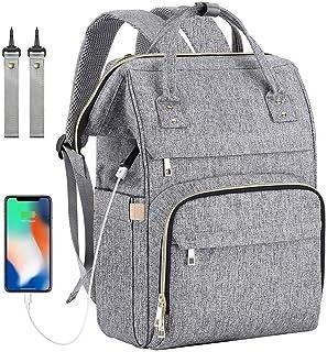 CHAYA Diaper Bag Backpack,Large Baby Bag, Multi-functional Travel Back Pack, Anti-Water Maternity Nappy Bag Changing Bags ...