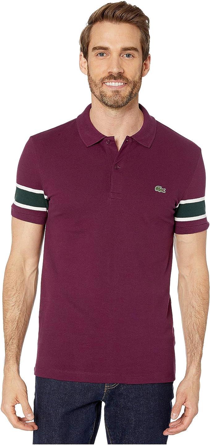 Lacoste Boys Short Sleeve Semi-Fancy Pique Polo Shirt