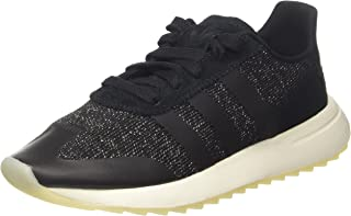 adidas Originals Womens FLB Running Lace Up Casual Trainers Sneakers Shoes-Black