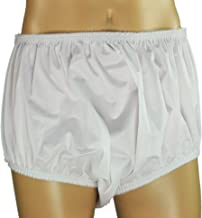 """ObboMed MT-3503G/MT-3503N """"New Larger Leg Circumference"""" Reusable Washable Underwear Waterproof Pull-On Incontinent Under Pants, for Patients, Elders , Adult Men and Women – White (XL: 40-46 inches)"""
