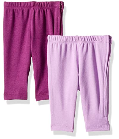 Hanes Ultimate Baby Zippin 2-Pack Knit Leggings with Side Zipper (Infant)