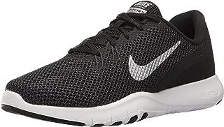 Nike Women's Flex Trainer 7 Cross, Black/Metallic Silver - Anthracite - White, 8 B(M) US