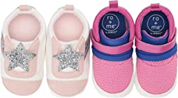 Ro + Me Slip-On Star/Jill Athletic 2-Pack (Infant/Toddler)