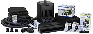 Aquascape 53039 Medium | AquaSurgePRO 2000-4000 Complete Waterfall Kit with 16 Feet Stream, Black