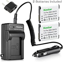 Kastar Battery 2-Pack and Charger for Sanyo Xacti VPC-GH2 VPC-GH3 VPC-GH4 VPC-PD1 VPC-PD2 VPC-PD2BK VPC-X1200 VPC-X1220 VPC-X1420 ICR-XPS01MF ICR-XPS03MF ICR-XRS120MF DMX-CS1S DMX-GH1 VPC-CG100 Camera