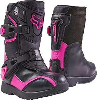2018 Fox Racing Kids Comp 5K Boots-Black/Pink-K13