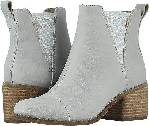 Glacier Gray Leather