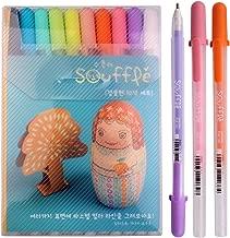 Sakura Pgb10c52 Souffle 10-piece Gelly Roll Blister Card Gel Ink Pen Set, Medium Point 0.8mm, Assorted Colors