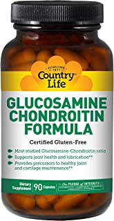 Country Life Glucosamine Chondroitin, 90 vcaps