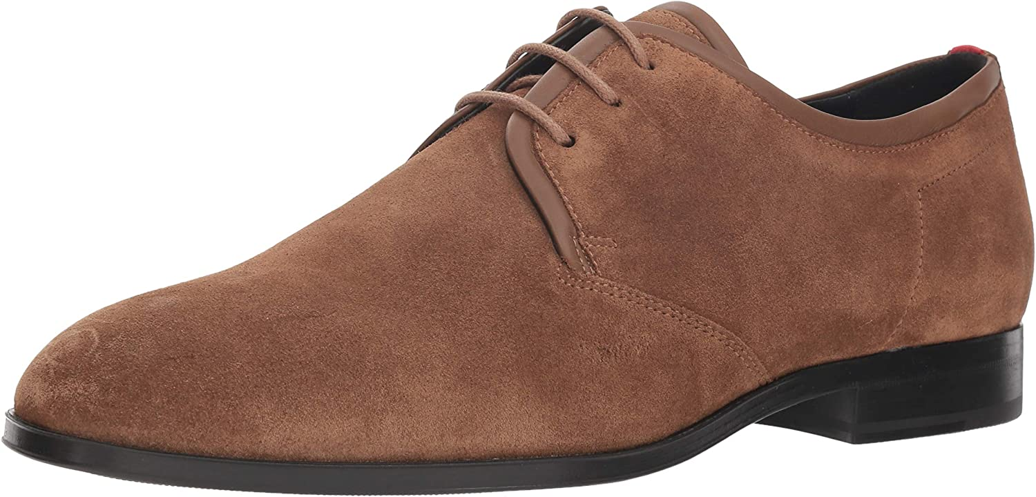 beebecd3a0186 BOSS Hugo by Hugo Hugo Hugo Mens 50389463 Boheme Suede Lace Up Derby b95eb9