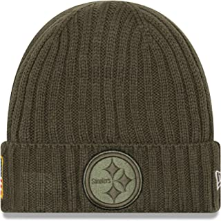 New Era Men's Men's Steelers 2017 Salute to Service Cuffed Knit Hat